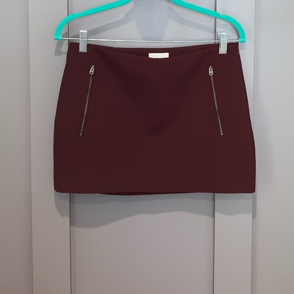 Aritzia Dresses & Skirts - Aritzia Wilfred Mini Zipper Skirt